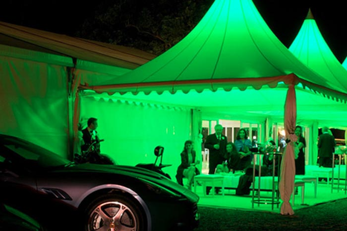 Luxury toilet hire for Corporate Events